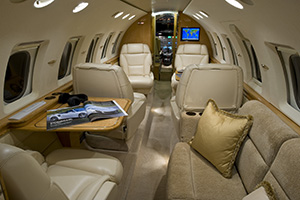 Hawker 800XP Interior JS