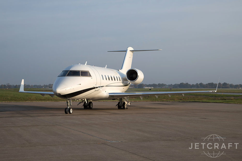 2011 Bombardier Challenger 605 S/N 5855
