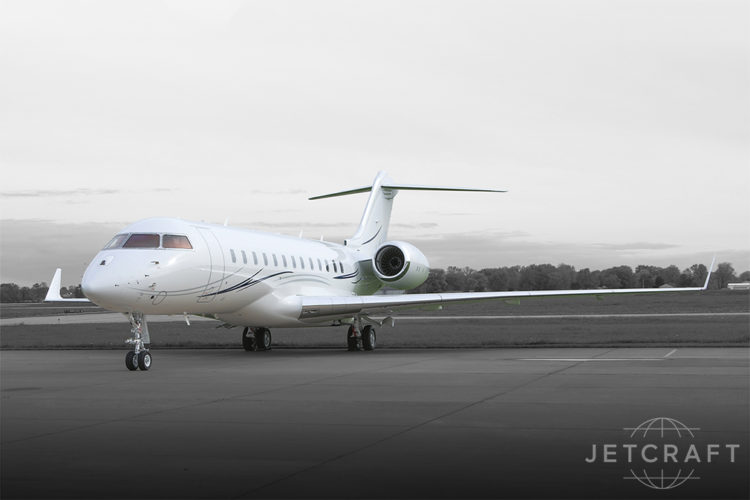 2017 Bombardier Global 6000 S/N 9758