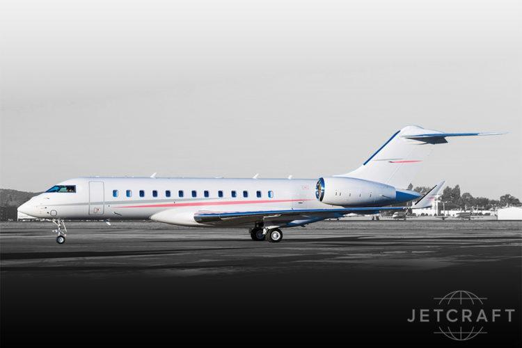 2015 Bombardier Global 6000 S/N 9622