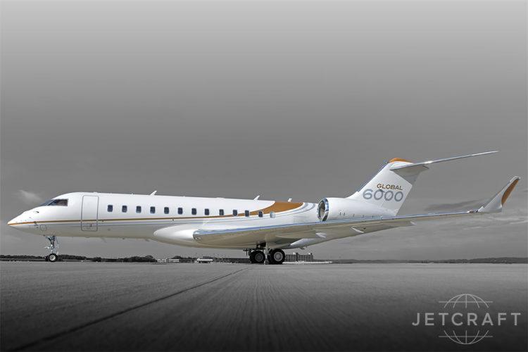 2015 Bombardier Global 6000 S/N 9543