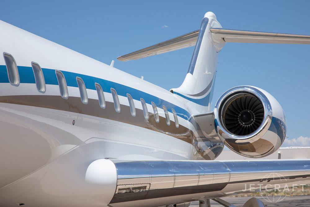2009 Bombardier Global 5000 S/N 9321
